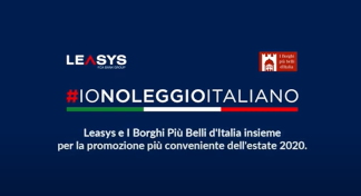 "Leasys with the most beautiful villages in Italy for the relaunch of tourism: ""io noleggio italiano"""
